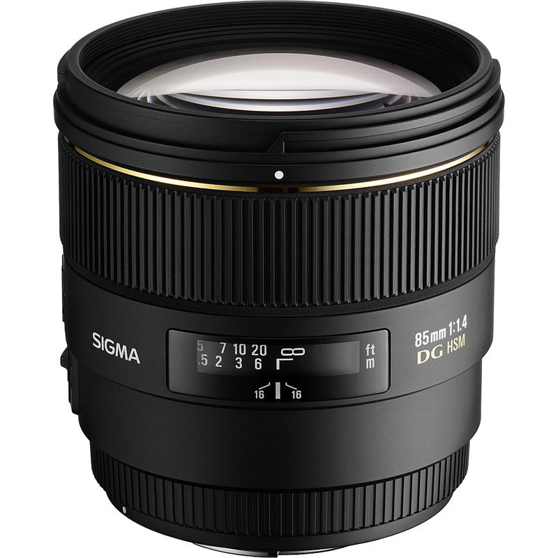 Sigma 85mm F1.4 EX DG HSM - Canon EOS Thumbnail Image 1