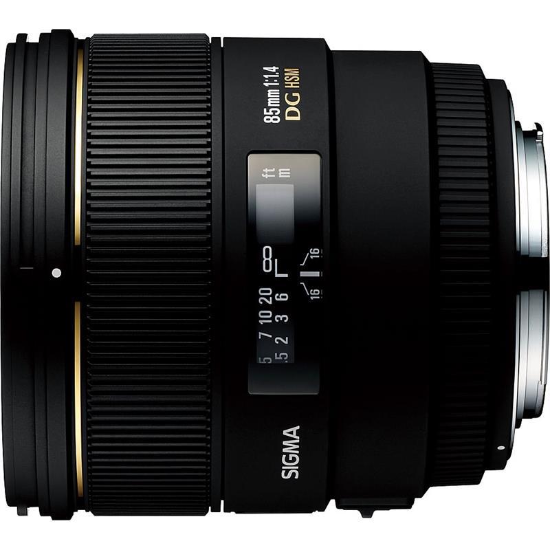 Sigma 85mm F1.4 EX DG HSM - Canon EOS Thumbnail Image 0