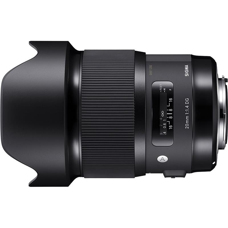 Sigma 20mm F1.4 DG HSM A - Canon EOS Thumbnail Image 0