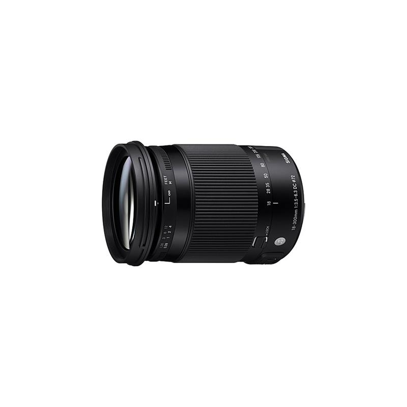 Sigma 18-300mm F3.5-6.3 DC OS HSM Macro C - Canon EOS Thumbnail Image 1