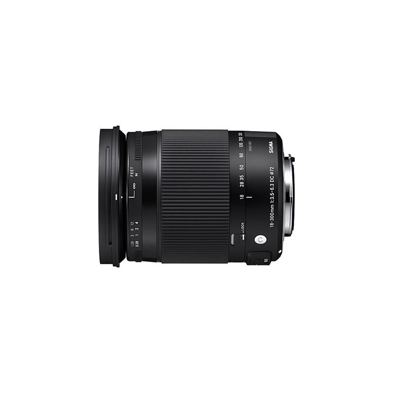 Sigma 18-300mm F3.5-6.3 DC OS HSM Macro C - Canon EOS Thumbnail Image 0