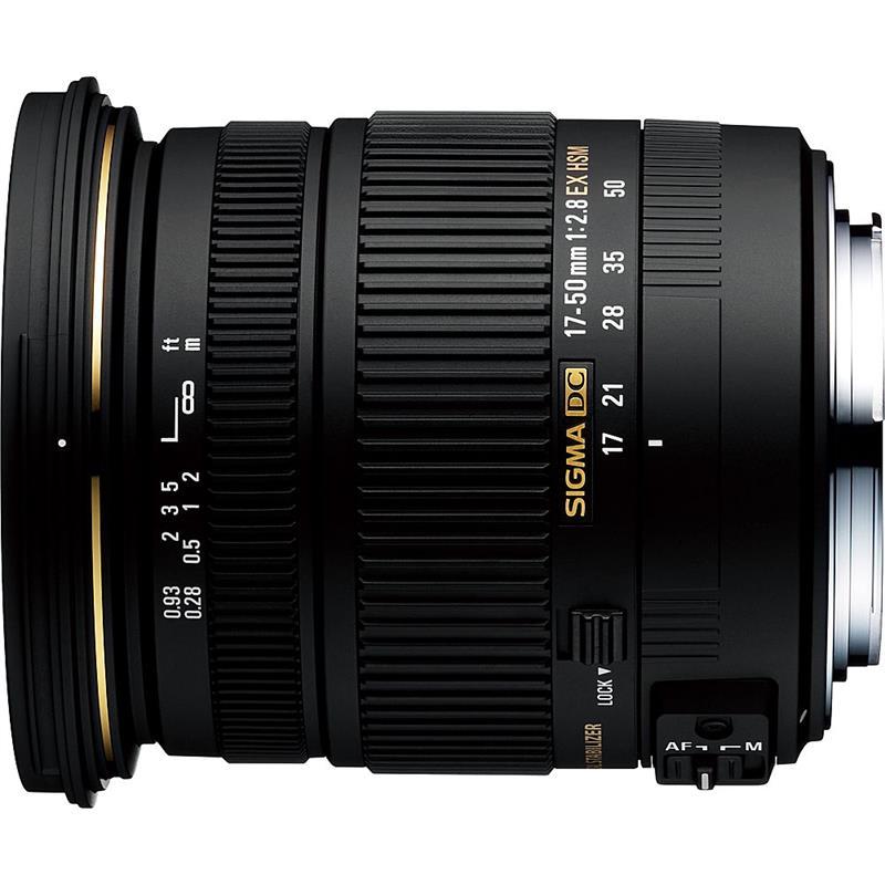 Sigma 17-50mm F2.8 EX DC OS HSM - Sony AF Image 1