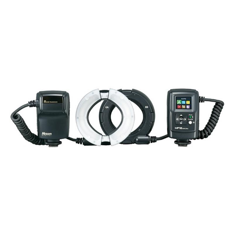 Nissin MF18 Macro Ring Flash - Nikon Image 1