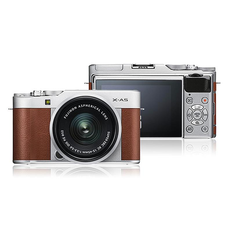 Fujifilm X-A5 + 15-45mm - Brown/Silver Image 1