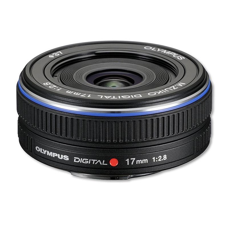 Olympus 17mm F2.8 M.Zuiko - Black Image 1