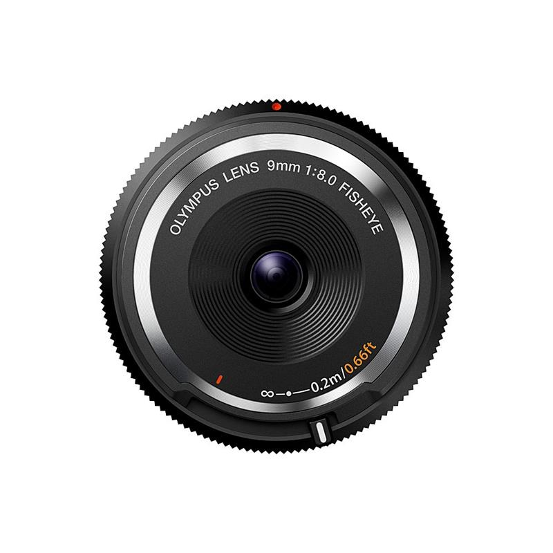 Olympus 9mm F8 Fisheye Body Cap - Black ( BCL-0980 ) Thumbnail Image 0