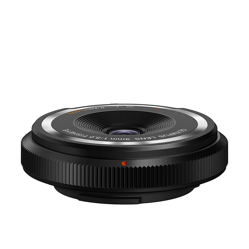 Olympus 9mm F8 Fisheye Body Cap - Black ( BCL-0980 ) Thumbnail Image 1