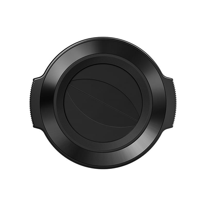 Olympus LC-37C Auto Lens Cap (14-42) - Black  Image 1
