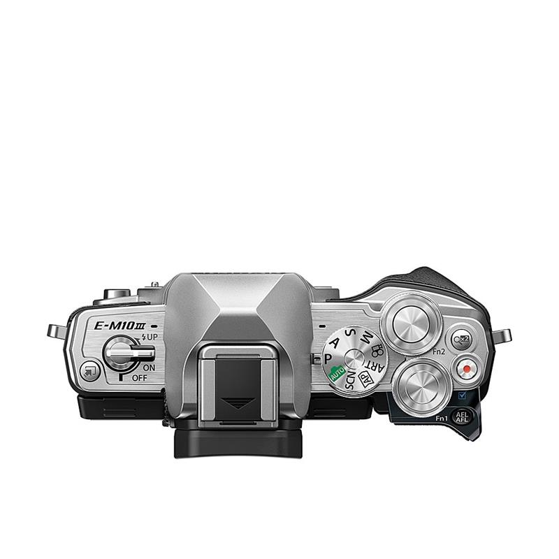 Olympus OM-D E-M10 III Body Only - Silver Thumbnail Image 2