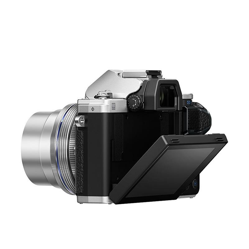 Olympus OM-D E-M10 III + 14-42mm EZ - Silver Thumbnail Image 1