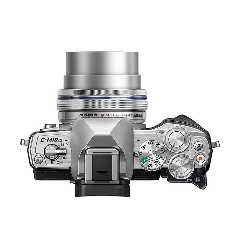 Olympus OM-D E-M10 III + 14-42mm EZ - Silver Thumbnail Image 2