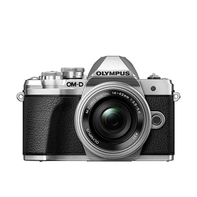 Olympus OM-D E-M10 III Twin Kit - Silver Thumbnail Image 0