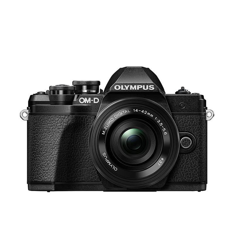 Olympus OM-D E-M10 III Twin Kit - Black Thumbnail Image 0