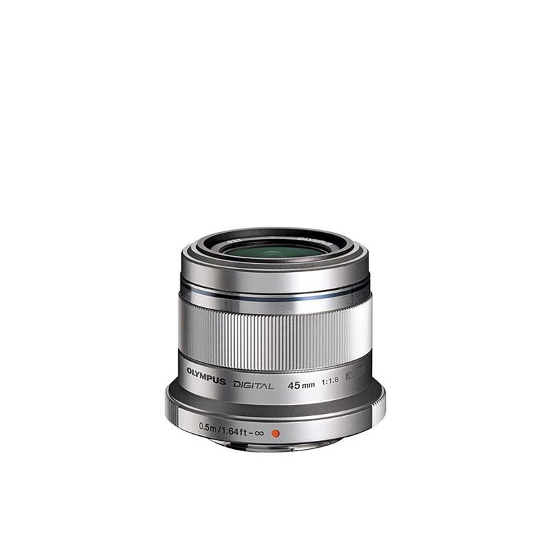 Olympus 45mm F1.8 M.Zuiko - Silver Image 1