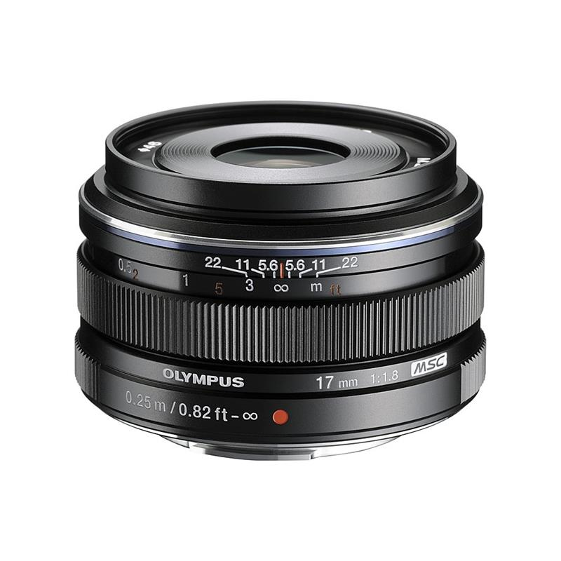 Olympus 17mm F1.8 M.Zuiko Black _ SALE Image 1