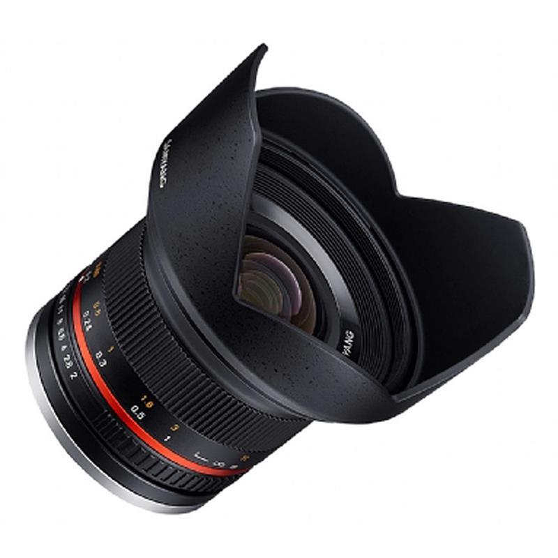 Samyang 12mm F2 NCS CS Black - Micro 4/3rds Image 1