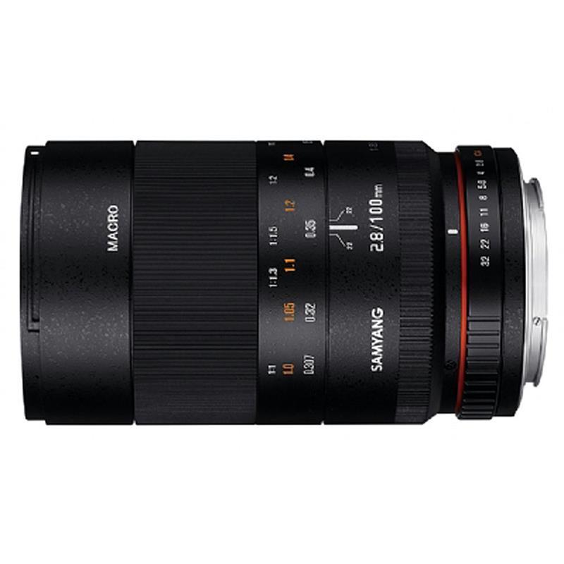 Samyang 100mm F2.8 ED UMC Macro - Fujifilm X Image 1