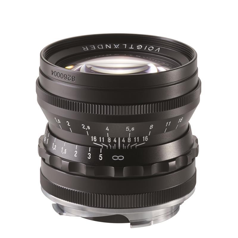 Voigtlander 50mm F1.5 Nokton ASPH VM Classic - Black Thumbnail Image 1