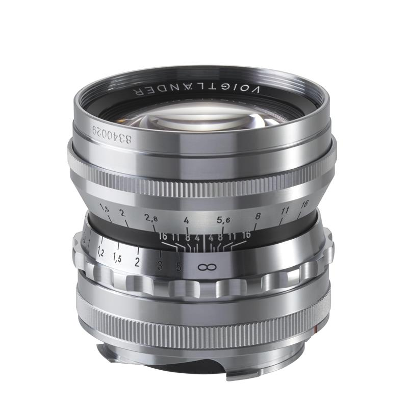 Voigtlander 50mm F1.5 Nokton ASPH VM Classic - Silver Thumbnail Image 1