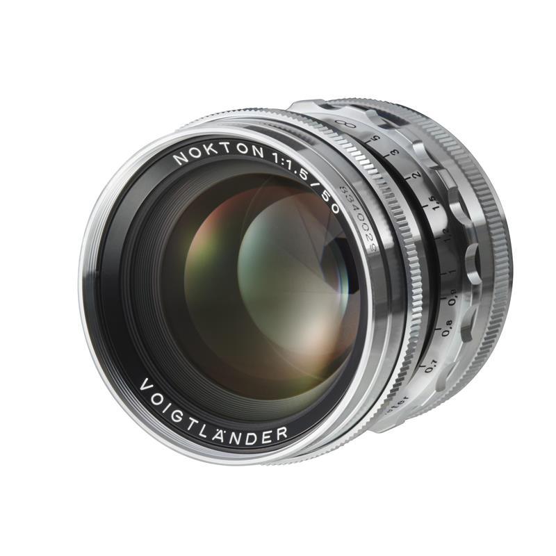 Voigtlander 50mm F1.5 Nokton ASPH VM Classic - Silver Thumbnail Image 0
