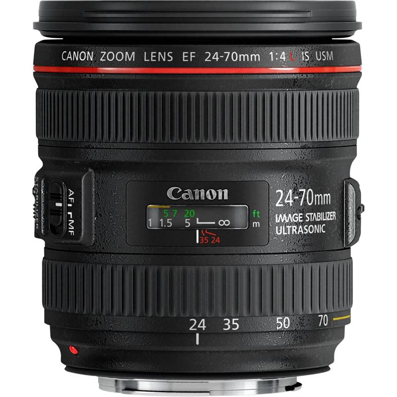 Canon 24-70mm F4 L IS USM - Voucher Code CAN10 Image 1