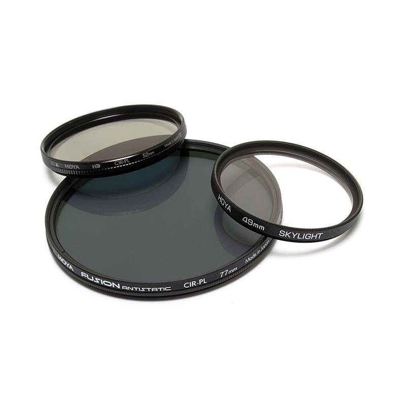 Hoya 62mm Circular Polarizer Fusion Antistatic Image 1