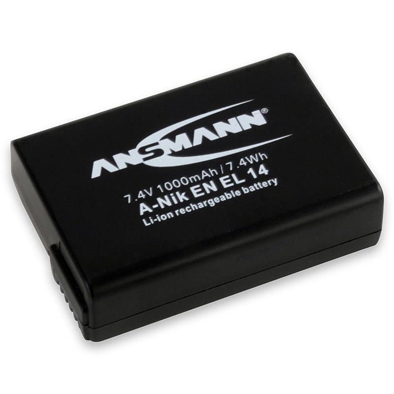 Ansmann Battery EN-EL14 Image 1
