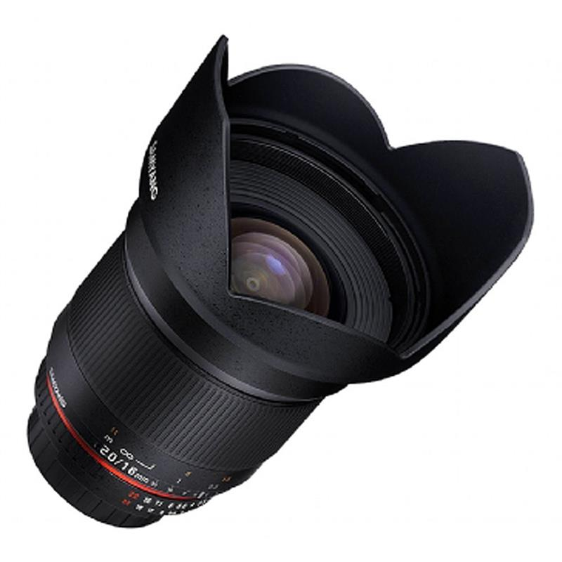 Samyang 16mm F2.0 ED AS UMC CS - Micro 4/3rds Image 1