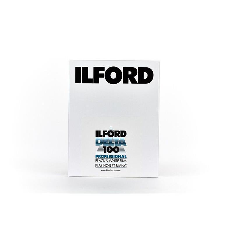 Ilford Delta 100 5x4 Sheet Film (25) Image 1