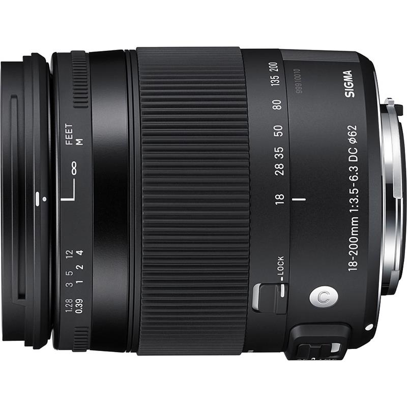 Sigma 18-200mm F3.5-6.3 DC Macro OS HSM C - Canon EOS Thumbnail Image 0