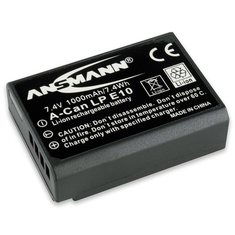 Ansmann LP-E10 ( Canon EOS 1100D / 1200D)  Image 1