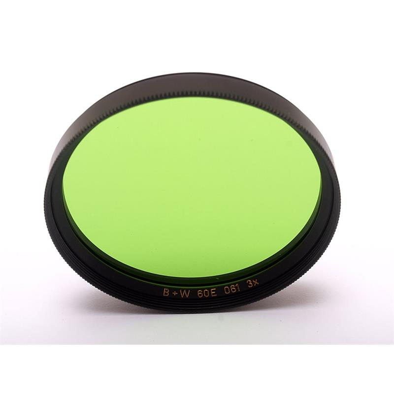 B+W 60mm Green (061) - Single Coated Image 1