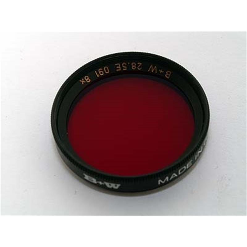 B+W 28.5mm Dark Red (091) - Single Coated Thumbnail Image 0