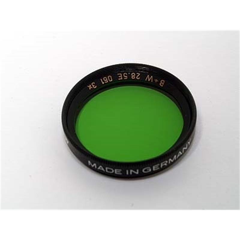 B+W 28.5mm Green (061) - Single Coated Thumbnail Image 0