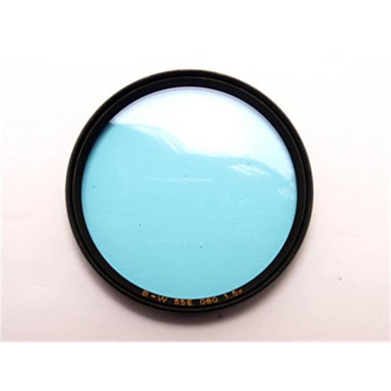 B+W 55mm Medium Blue (081)- Single Coated Thumbnail Image 0