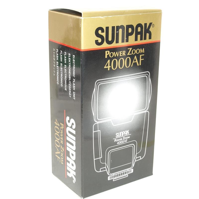 Sunpak PZ4000AF - Nikon AF Image 1