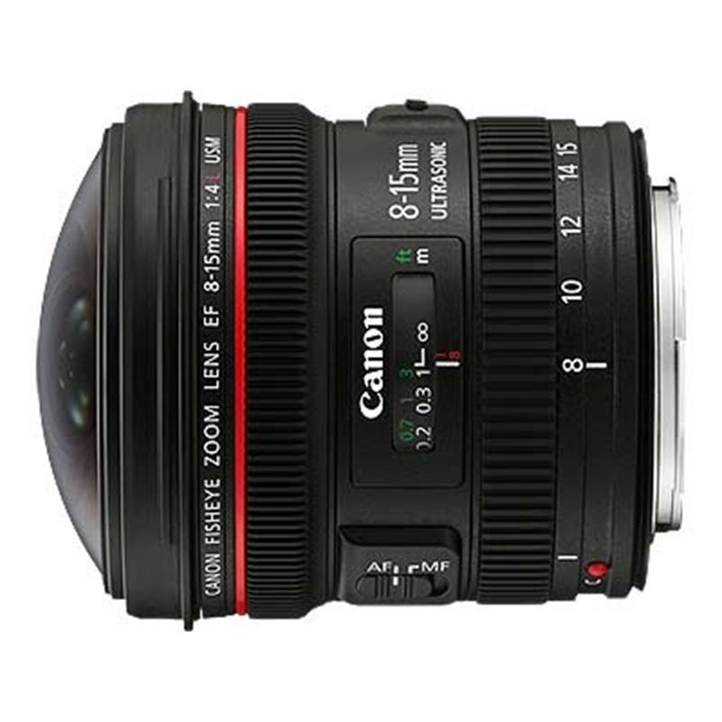 Canon 8-15mm F4 L Fisheye USM Thumbnail Image 0