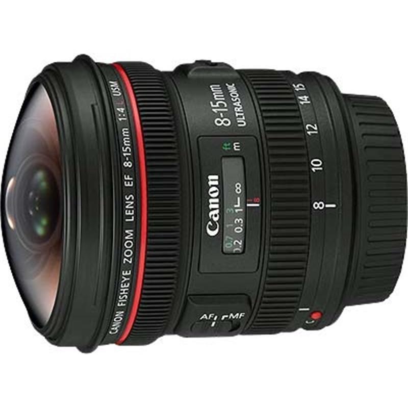 Canon 8-15mm F4 L Fisheye USM Thumbnail Image 2