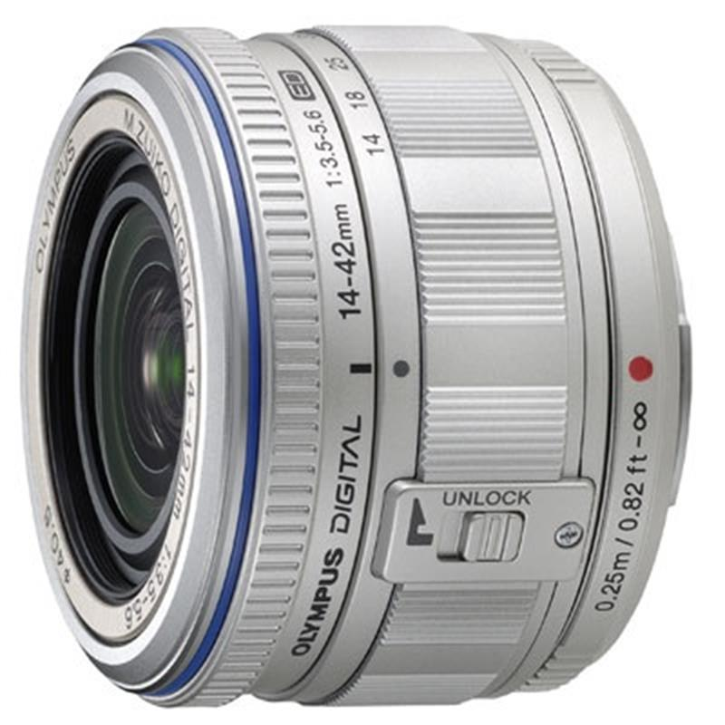 Olympus 14-42mm F3.5-5.6 M.Zuiko ED -Silver Thumbnail Image 0