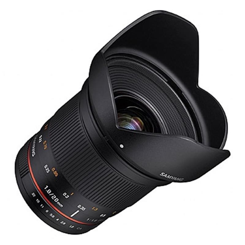 Samyang 20mm F1.8 ED AS UMC FE V - Sony E Image 1