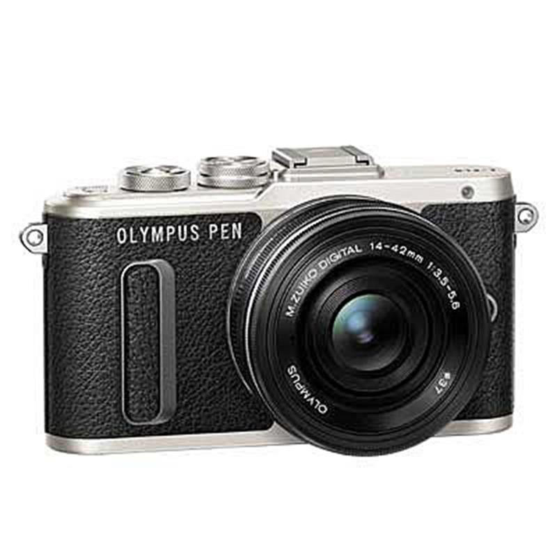 Olympus E-PL8 with 14-42mm EZ - Black Thumbnail Image 0