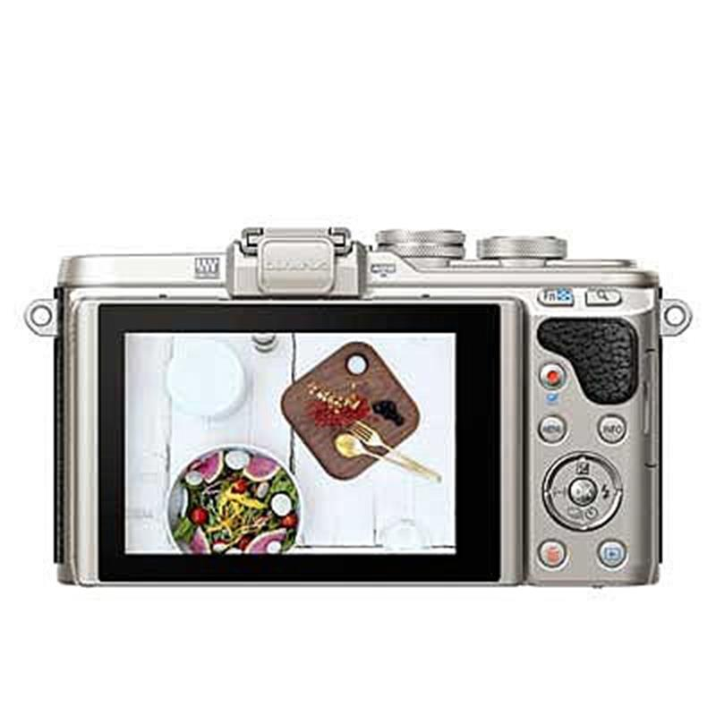 Olympus E-PL8 with 14-42mm EZ - Black Thumbnail Image 1