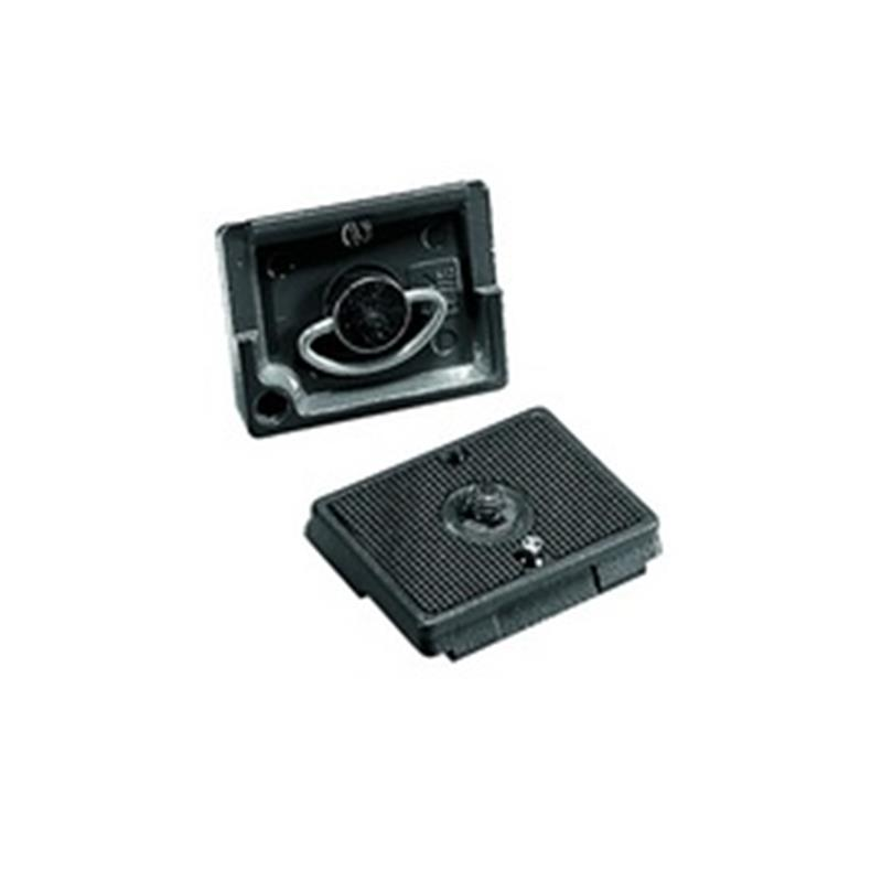 Manfrotto 200PL Rectangle Plate 1/4 & 3/8 Screw Image 1
