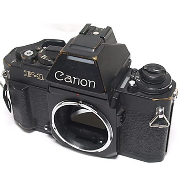 Canon F1NAE Black Body Only Thumbnail Image 0