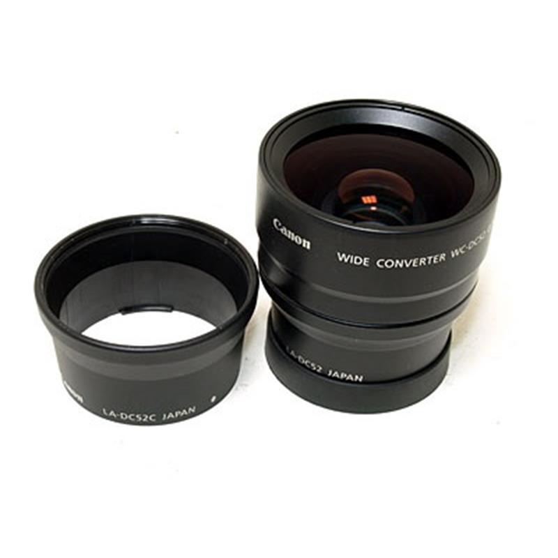 Canon WC-DC52 Wide Converter Image 1