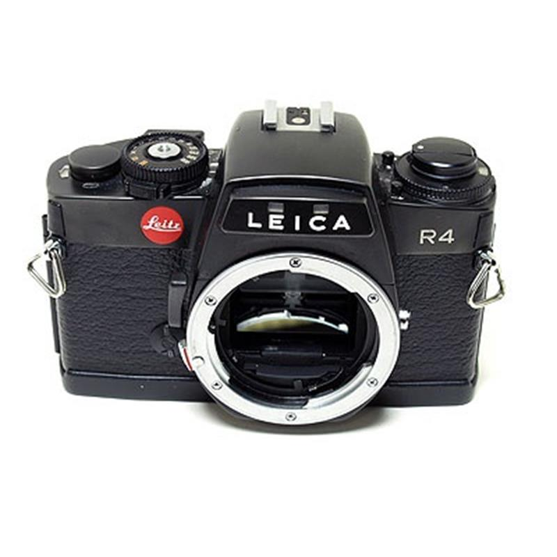 Leica R4 Body Only - Black Image 1