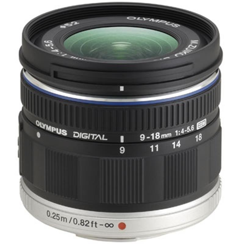 9-18mm F4-5.6 M.Zuiko ED + Half Price Olympus Hood  Image 1