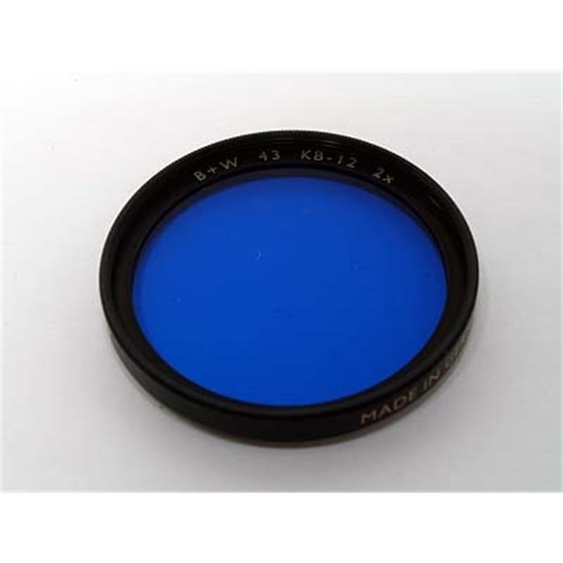 B+W 43mm KB12 Blue Thumbnail Image 0