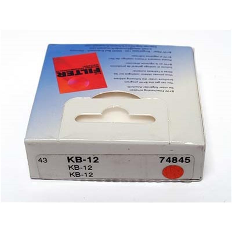 B+W 43mm KB12 Blue Thumbnail Image 1