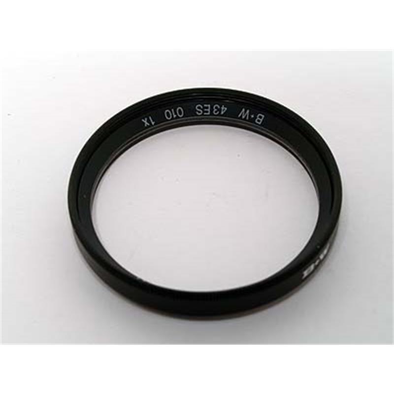 B+W 43mm UV Black (010M) MRC Thumbnail Image 1